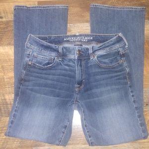American Eagle kick-boot jeans